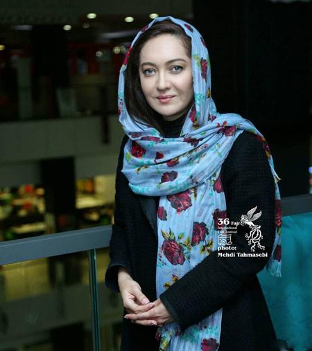 عکس خانم نیکی کریمی بازیگر زن در جشنواره فیلم فجر