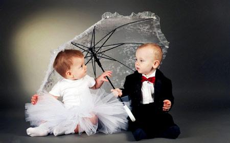 عکس آتلیه عروس داماد کودکان